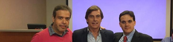 Con Victor Ilizaliturri de mexico y Oliver Marin Peña de España