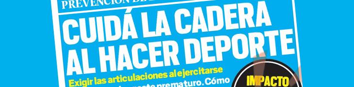 Cuida la cadera al hacer deportes – Diario MUY