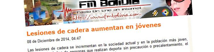 Lesiones de cadera aumentan en jóvenes – FM Bolivia